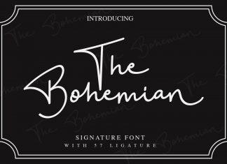 The Bohemian - a Signature FontScript Font