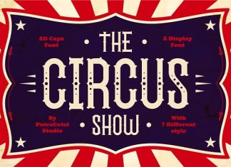 The Circus Show - Display Font