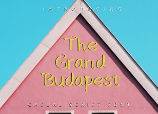 The Grand Budapest Font Regular Font