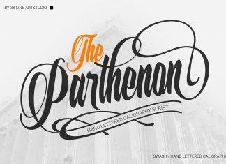 The Parthenon Font