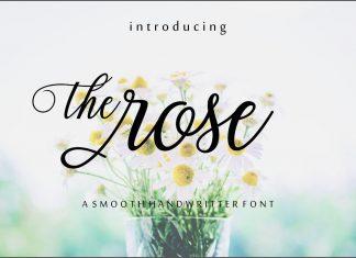 The rose Script Font