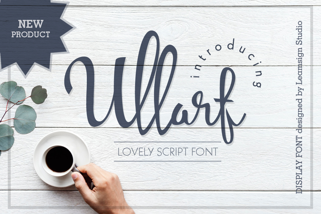 Ullarf Script Font