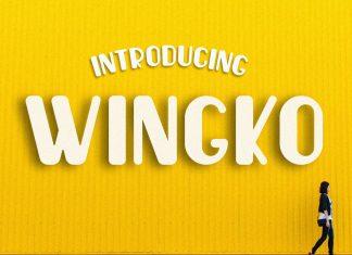 Wingko FunRegular Font