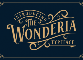 Wonderia Font