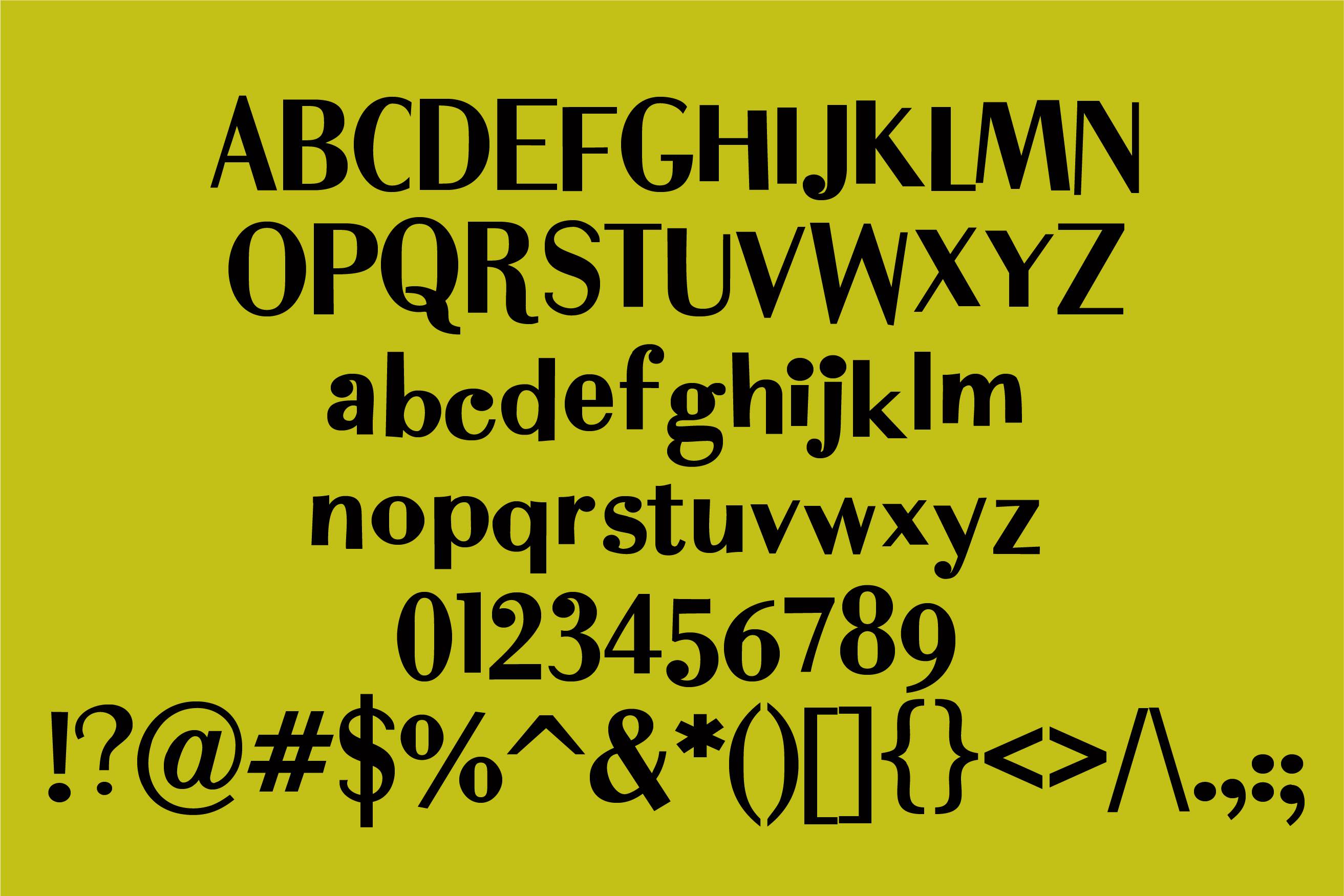 ZP Dirty Martini Regular Font