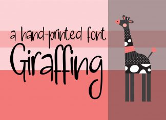 ZP Giraffing Regular Font