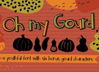 ZP Oh My Gourd Regular Font