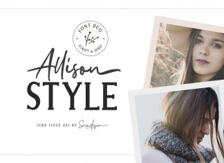 Allison Style - Font Duo