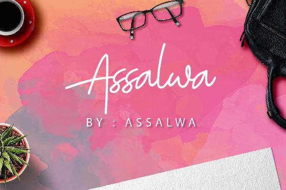 Assalwa Font