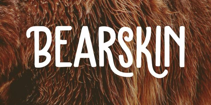 Bearskin Font Family