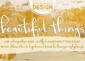 Beautiful Things Font
