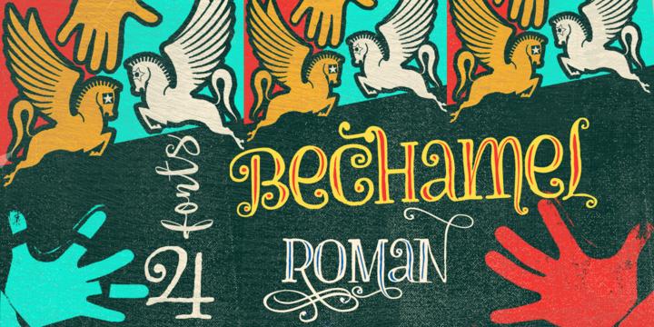 Bechamel Roman Font Family