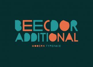 Beecdor Additional Regular Font