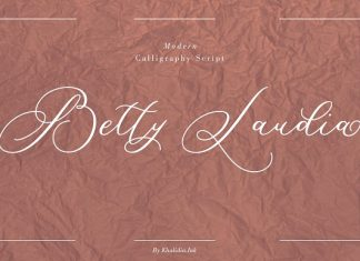Betty Laudia | Modern Calligraphy