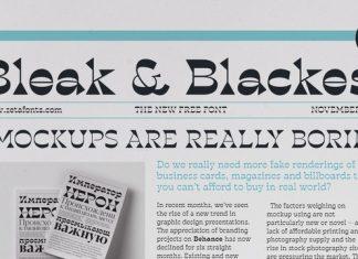Blackest Font Family