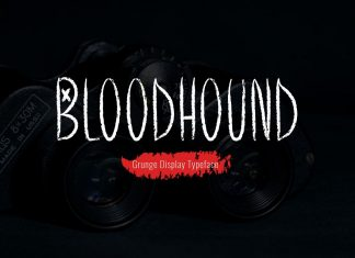 Bloodhound Regular Font