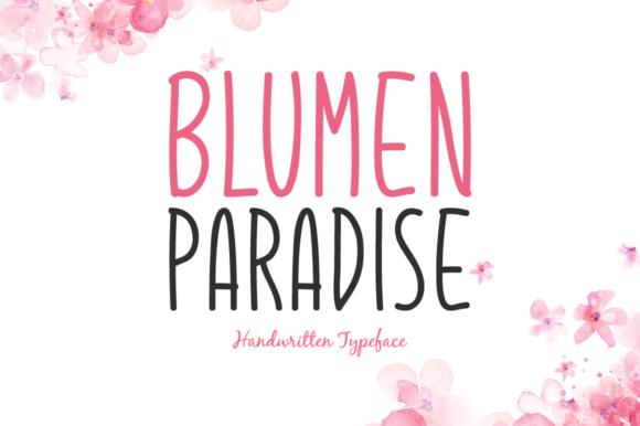 Blumen Paradise Font