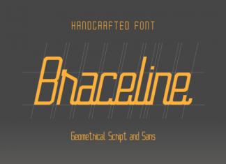 Braceline Duo Font