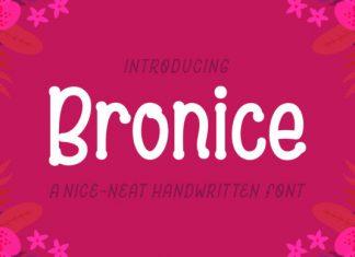 Bronice Font
