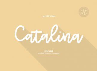 CATALINA MONOLINE FONT
