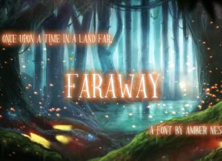 Faraway Regular Font