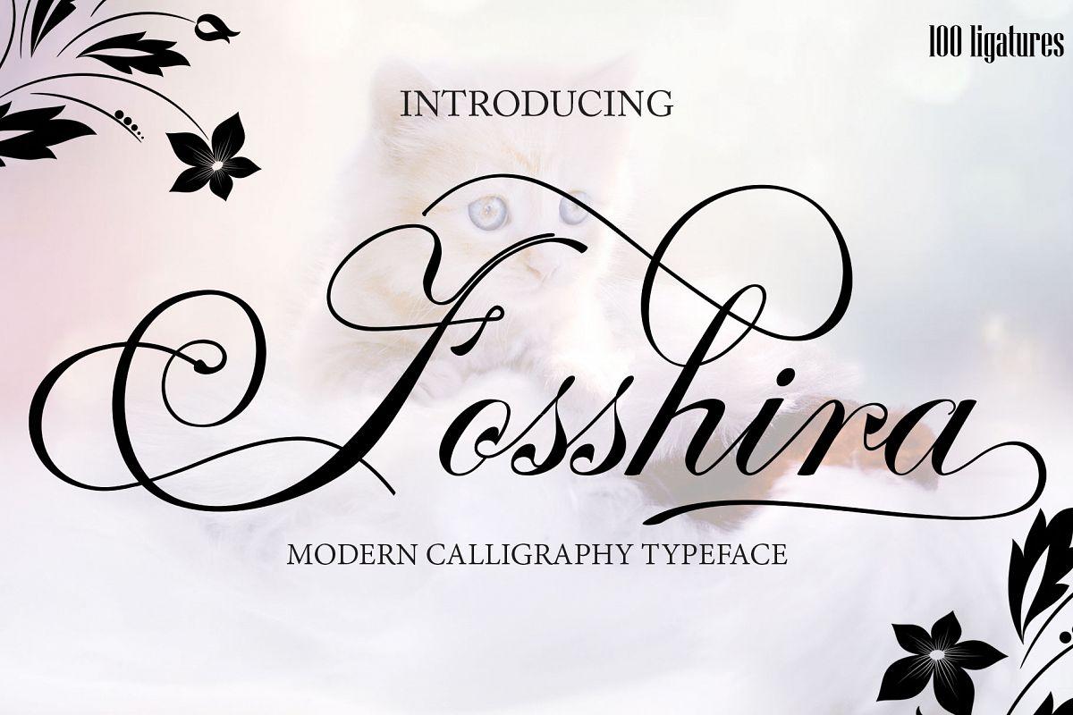 Fosshira Script Font