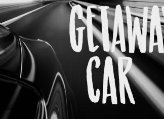 Getaway Car Font