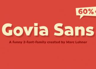Govia Sans Font Family