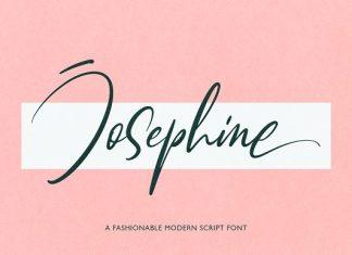 Josephine | Fashionable Script Font