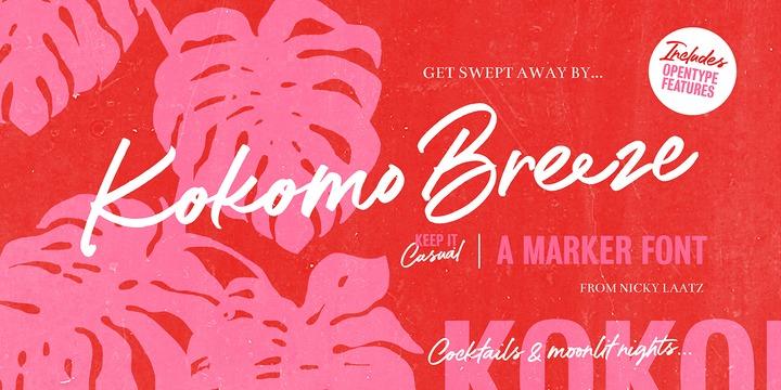 Kokomo Breeze Font