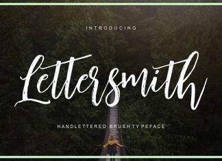 Lettersmith Font