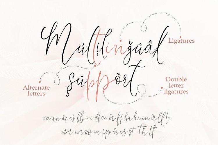 Little Girl. Gentle Script Font