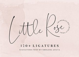 Little Rose Font