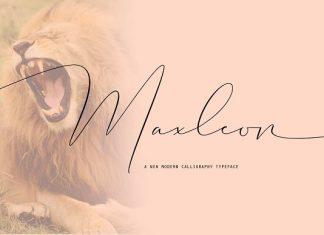Maxleon Font