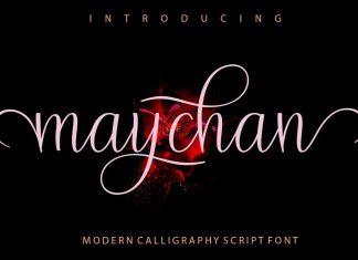 maychan Script Font