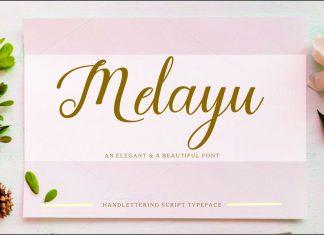 Melayu Script Font