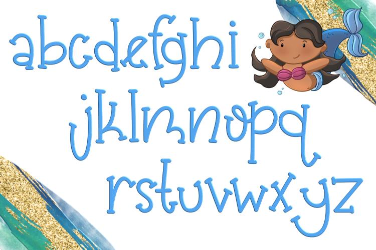 Mermaid Magic Font