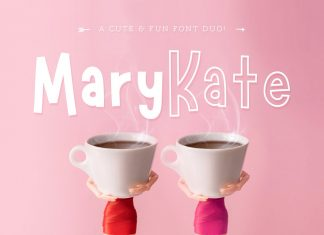 NEW! Marykate Font Duo