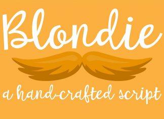 PN Blondie Script Font