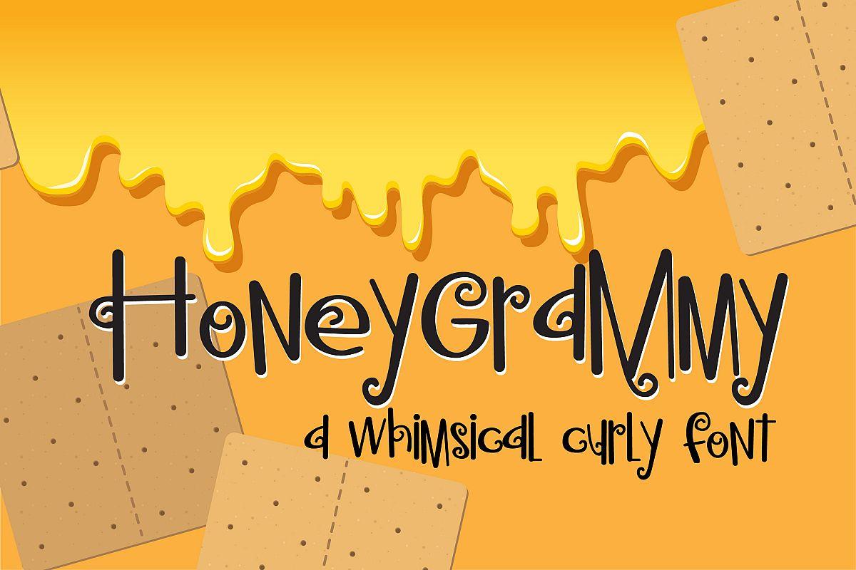 PN Honeygrammy Regular Font