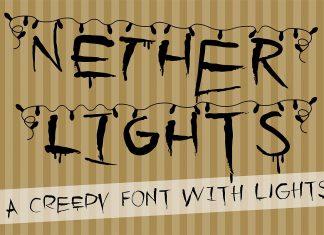 PN Nether LightsRegular Font