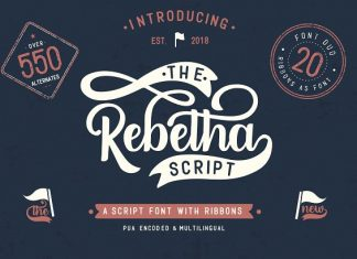 Rebetha Font DUO and extras