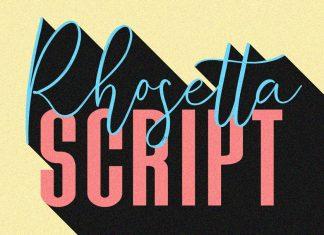 Rhosetta Script Font