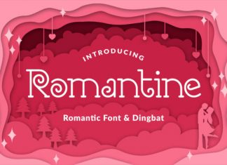 Romantine Font