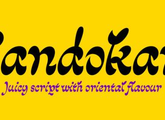 Sandokan Font