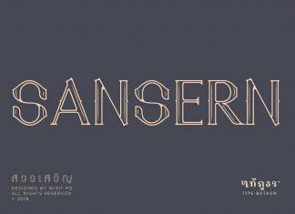 SanSern Font Family