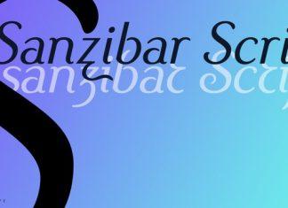Sanzibar Script Font