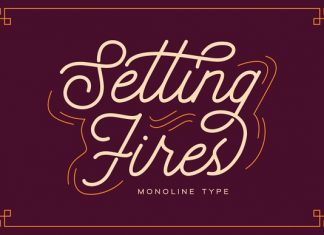 Seting Fires - Monoline Type