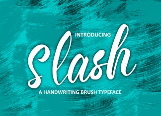 Slash Script Font