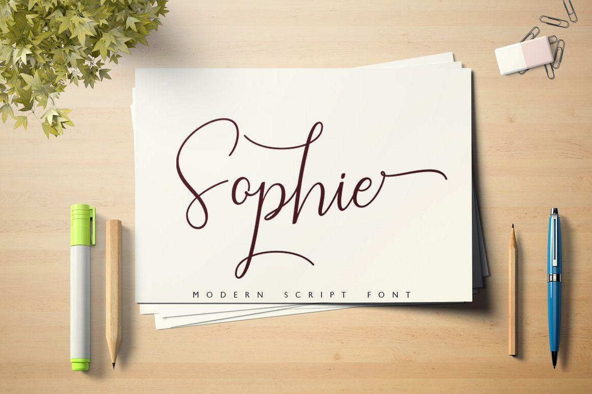 Sophie Script Font